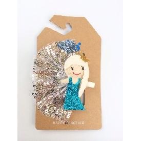 Sati HC113 Princess Belle Hair Clip