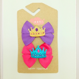 Sati LC036 Princess Bow Hair Clip