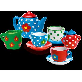 Ses paint your own tea set