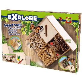 Explore insect hotel