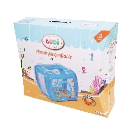 Inflatable play pen - sea