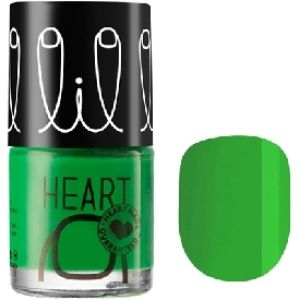 Little Heart Nail Color Go Green 04