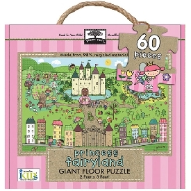 Giant Floor puzzle : Princess Fairyland