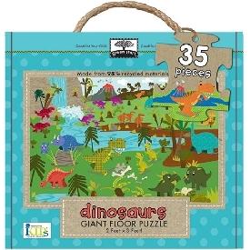 Giant Floor puzzle : dinosaurs