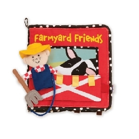 Farmyard friends soft book