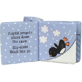 Float along - playful penguins