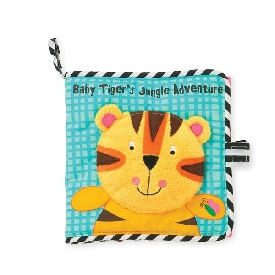Baby Tiger's Jungle Adventure Soft Book