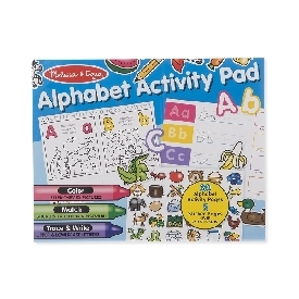 Sticker activity pad alphabet