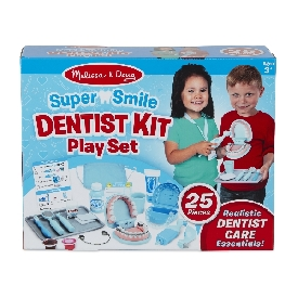 Super smile dentist kit playset