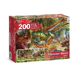 floor puzzle dinosaur world 200 pc