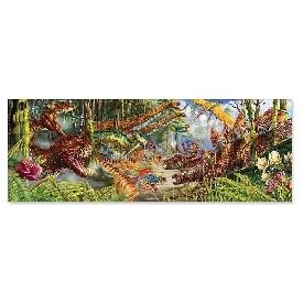floor puzzle dinosaur world 200 pc