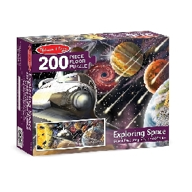 Floor Puzzle Exploring Space 200 pc