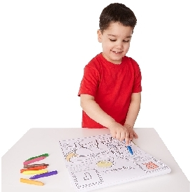 Coloring pad - dinosaurs alphabet