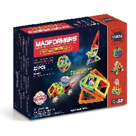 Magformers Vehicle set - Space Wow set 22 Pcs