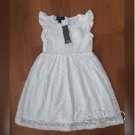 Girl's dress (white)