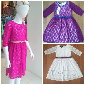 Girl's dress (purple)