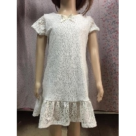 GIRL'S DRESS (White) 2