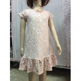 Girl's dress (pink) 2