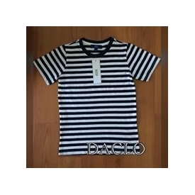BOY'S SHIRT (White & Blue)