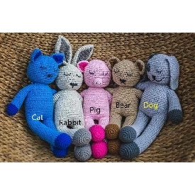Sabay dolls teddy bears