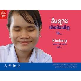 Kimlang cannot see, yet...