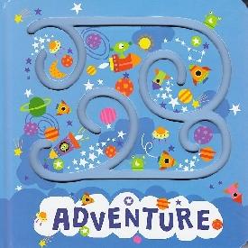 Trace & track book - adventure