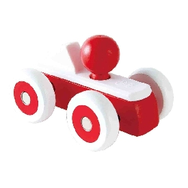Rolling roadster, red