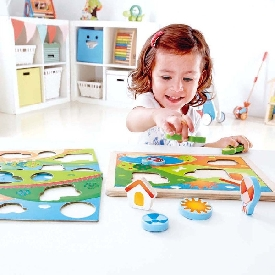 Sunny valley puzzle 3 in 1