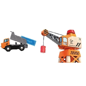 Large boom crane