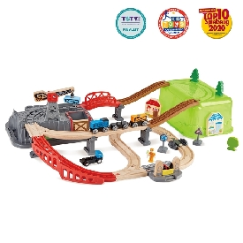 Railway bucket-builder-set