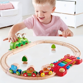 Musice and monkey railway