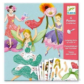 Fairies Paper Puppets