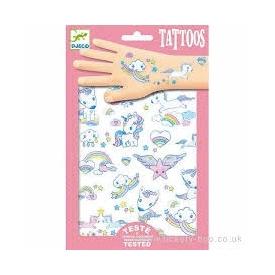 Unicorns Glitter Tattoos