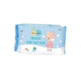 Lamon organic baby wet wipe 20 sheets