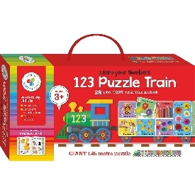 Building Blocks Puzzle Train Number