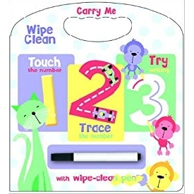 Wipe clean carry handle : 123
