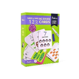 Write&wipe activity-123 cards