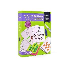 Write&wipe Activity-123 Cards