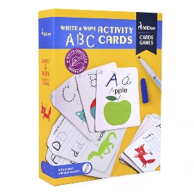 Write&wipe activity-abc cards