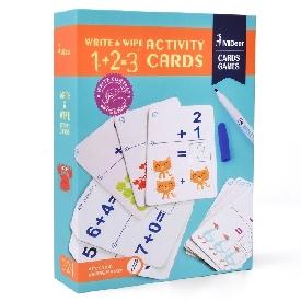 Write & wipe card1+2=3