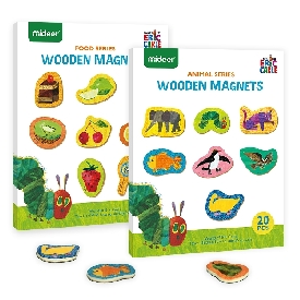 WOODEN MAGNETS Animal SERIES