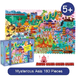 Mysterious asia puzzle