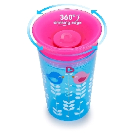 Miracle 360 decorated sippy cup