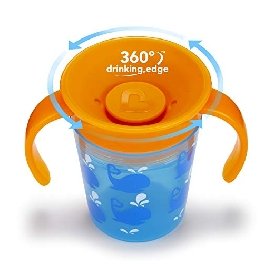 Miracle 360decorated trainer cup