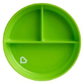 Stay put suction plate