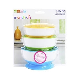 Stay put suction bowls - 3pk