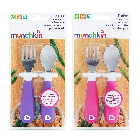 Raise Toddler Fork & Spoon Set