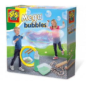 Mega bubble blower
