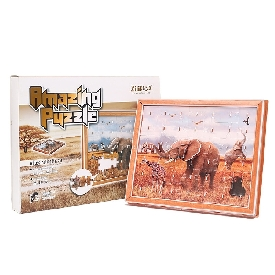 Amazing puzzle elephant 42 pcs