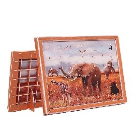 จิ๊กซอว์สามมิติลาย elephant 42 ชิ้น
